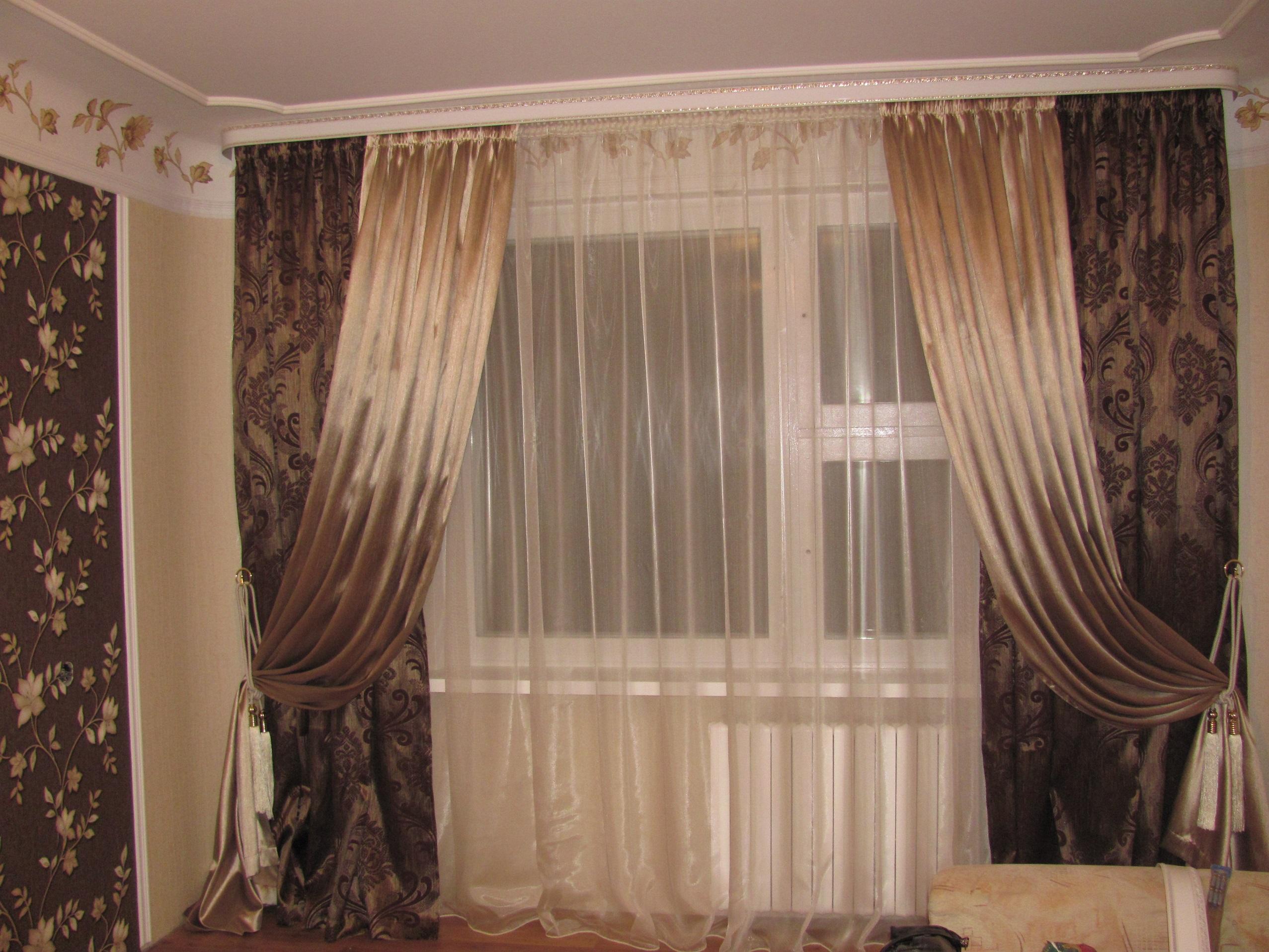 фото портьеры в зал