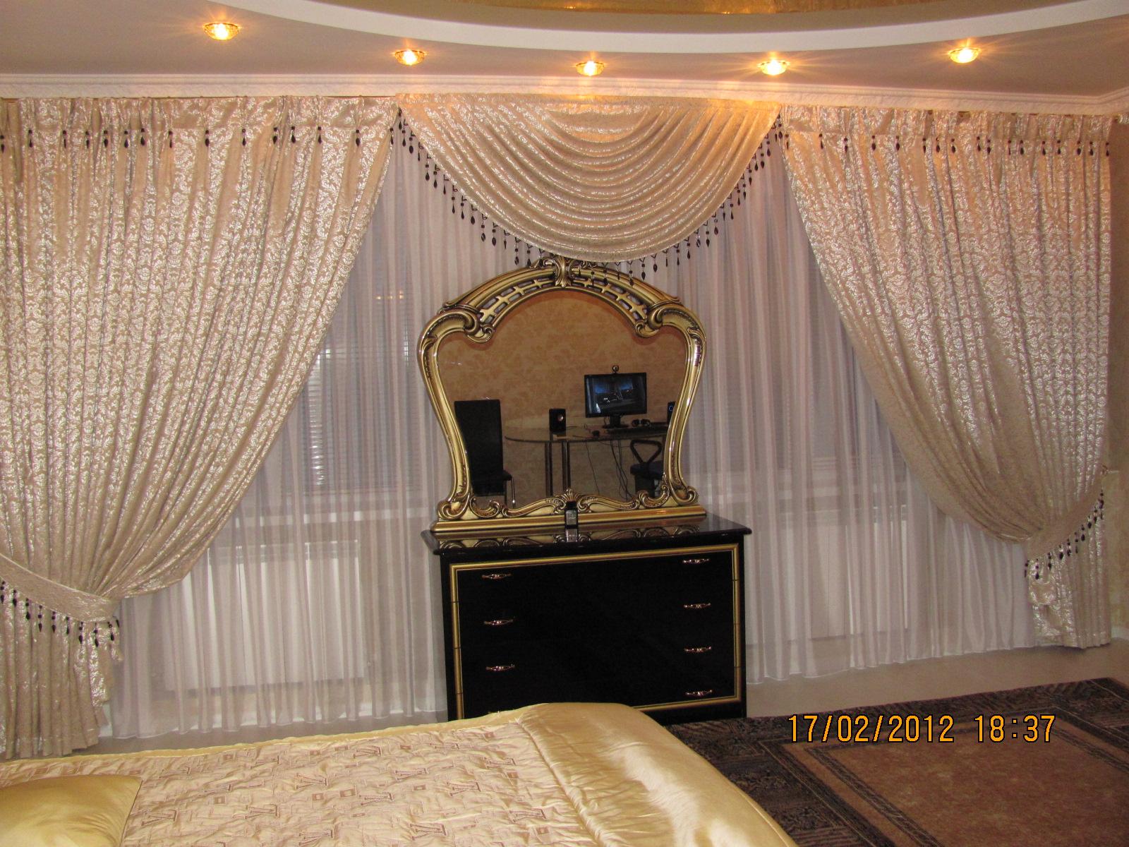 Дизайн штор для частного дома
